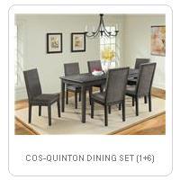 COS-QUINTON DINING SET (1+6)